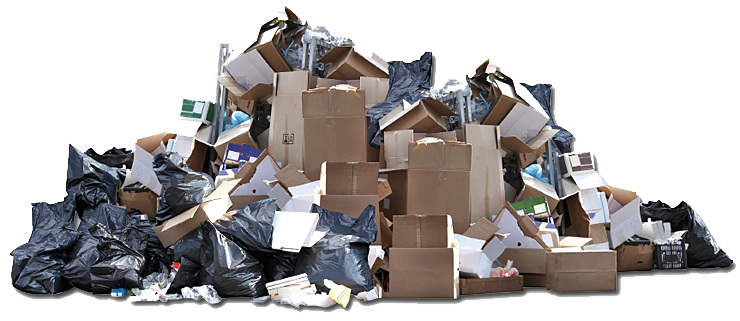 Huge Pile of Trash - Cleanout Captain